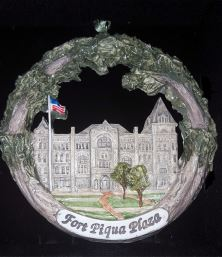Fort Piqua Plaza Captured as new Piqua Collectible