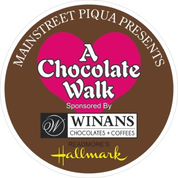 Mainstreet Piqua Chocolate Walk Tickets go on sale Tuesday, September 6
