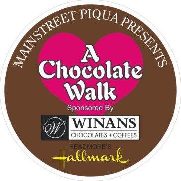 Mainstreet Piqua Chocolate Walk Tickets go on sale Tuesday, September 6