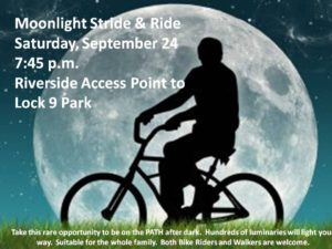 Moonlight Stride and Ride set for Next Saturday, September 24