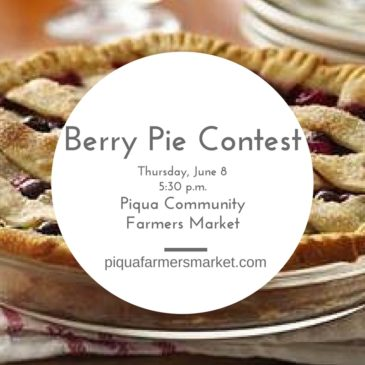 Winner of Berry Pie Contest Announced