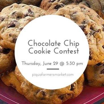 Piqua Farmers Market to Host Chocolate Chip Cookie Contest