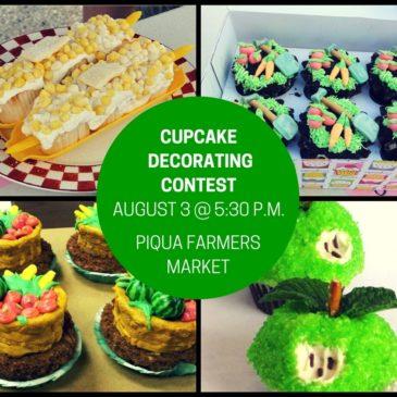 Piqua Farmers Market to Host Cupcake Decorating Contest