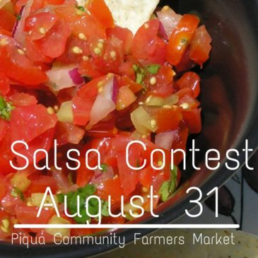 Piqua Farmers Market Hosts Tomato Salsa Contest