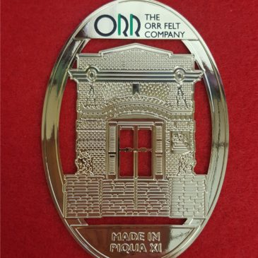 "2017 ""Made in Piqua"" Ornament Available"