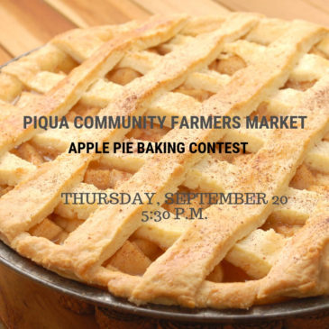 Farmers Market to host Apple Pie Baking Contest