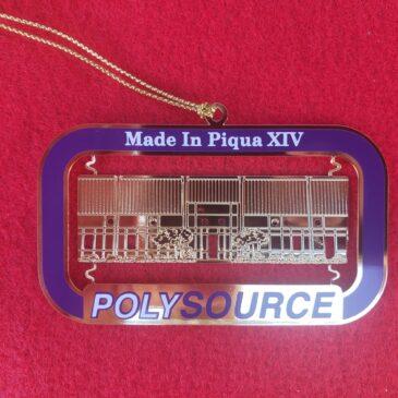 "2020 ""Made in Piqua"" Ornament Available"