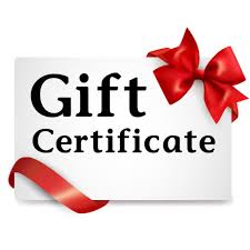 Purchase A Downtown Gift Certificate
