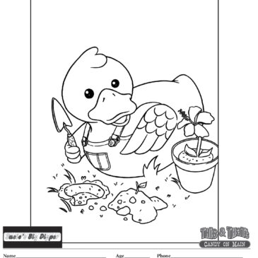 Coloring Contest Returns for the 2021 Rockin' River Duck Drop