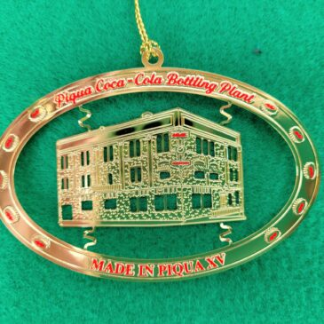 """2021 """"Made in Piqua"""" Ornament Available starting October 15"""